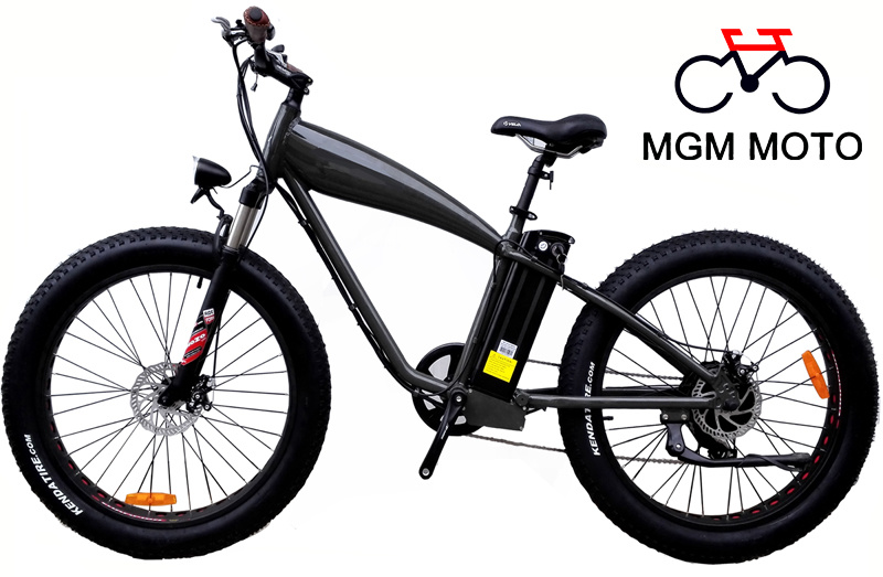 26*4.0 Fat Tire 500W Mountain Electric Bicycle