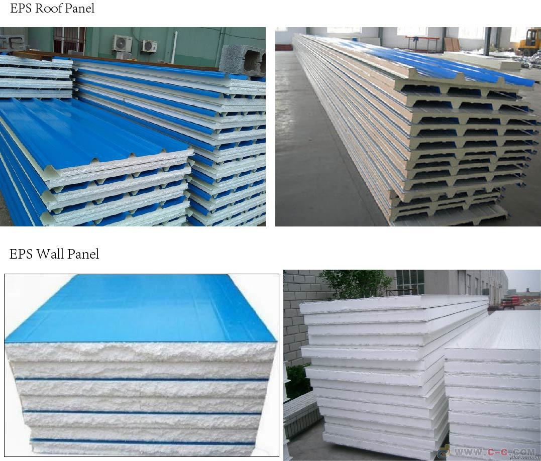 Eps Foam Roof Panels : China roof eps sandwich panel insulation