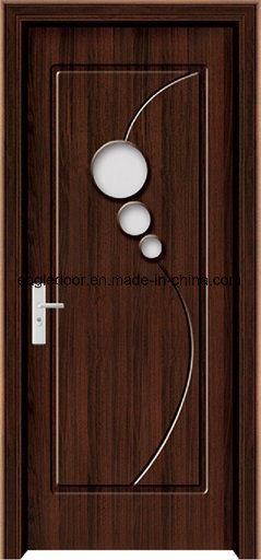 Dubai Latest Design PVC Interior Wooden Doors (EI-P125)