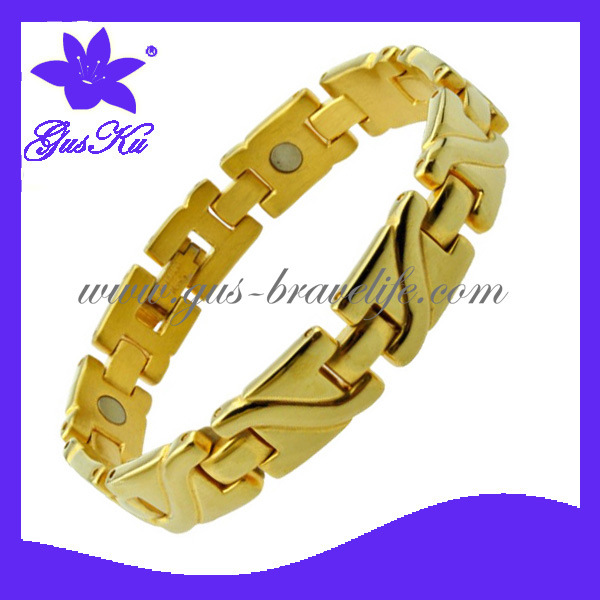 2014 Gus-STB-115GS Vogue 24k Gold Stainless Steel Jewelry