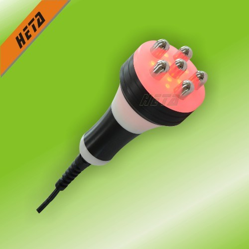 8 Inch Touch Screen 6 650nm Laser Slim Handle 3 Flashing Cavitation RF Head 1 Vacuum Beauty Machine H-1000c