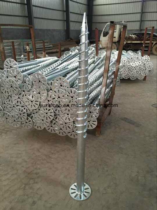 Galvanizing Ground Anchor/ Screw Pile / Galvanized Screw / Ground Screw