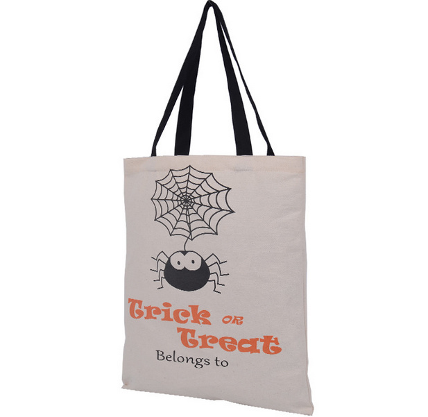 Halloween Eco Friendly Cotton Tote Bag
