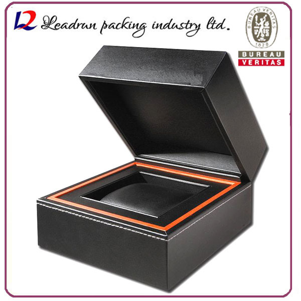 Wood Velvet Leather Paper Storage Case Packing Display Box for Watch Badge Medal Gold Jewelry Gift Souvenir Present Boutique Perfume Coin (YS93)