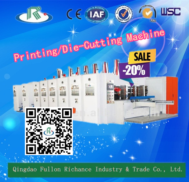 Automatic Corrugated Printing Slotting Die Cutting Machine