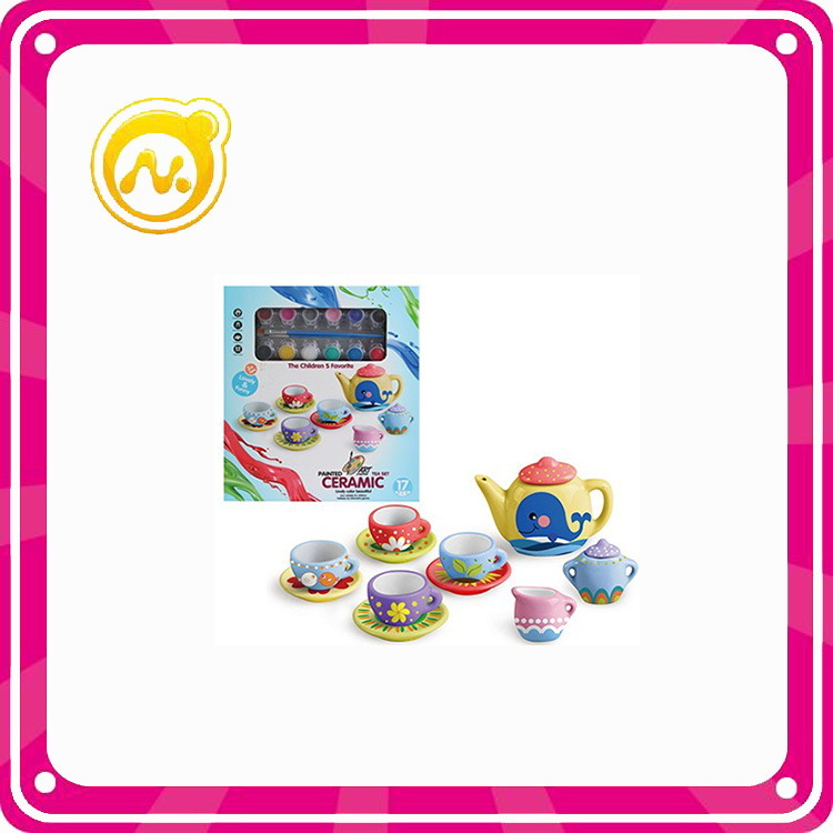Newest Funny Children Porcelain Tea Set Toys Ceramic Toys