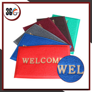 Waterproof PVC Coil Welcome Doormat