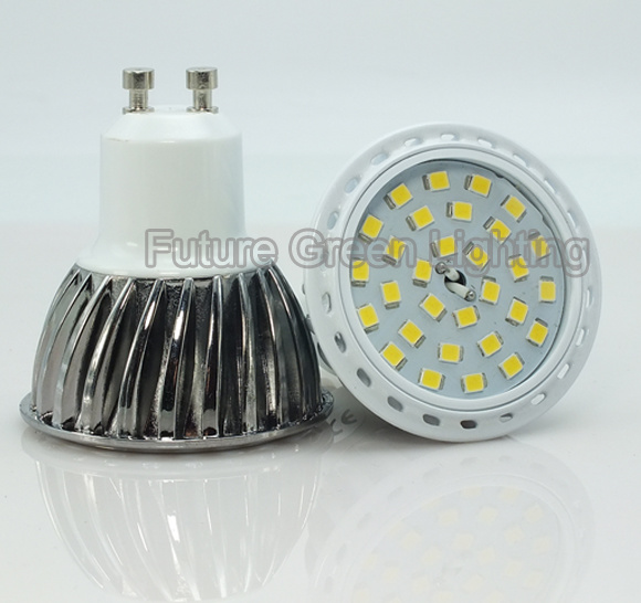 30PC 2835SMD 600lm GU10 6.5W LED Spot Lamp