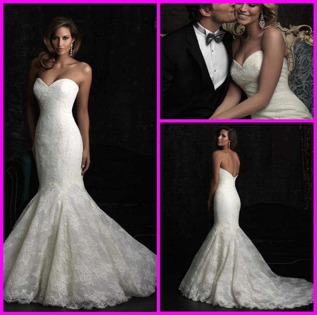 China Lace Mermaid Wedding Gown Bodice Bridal Wedding