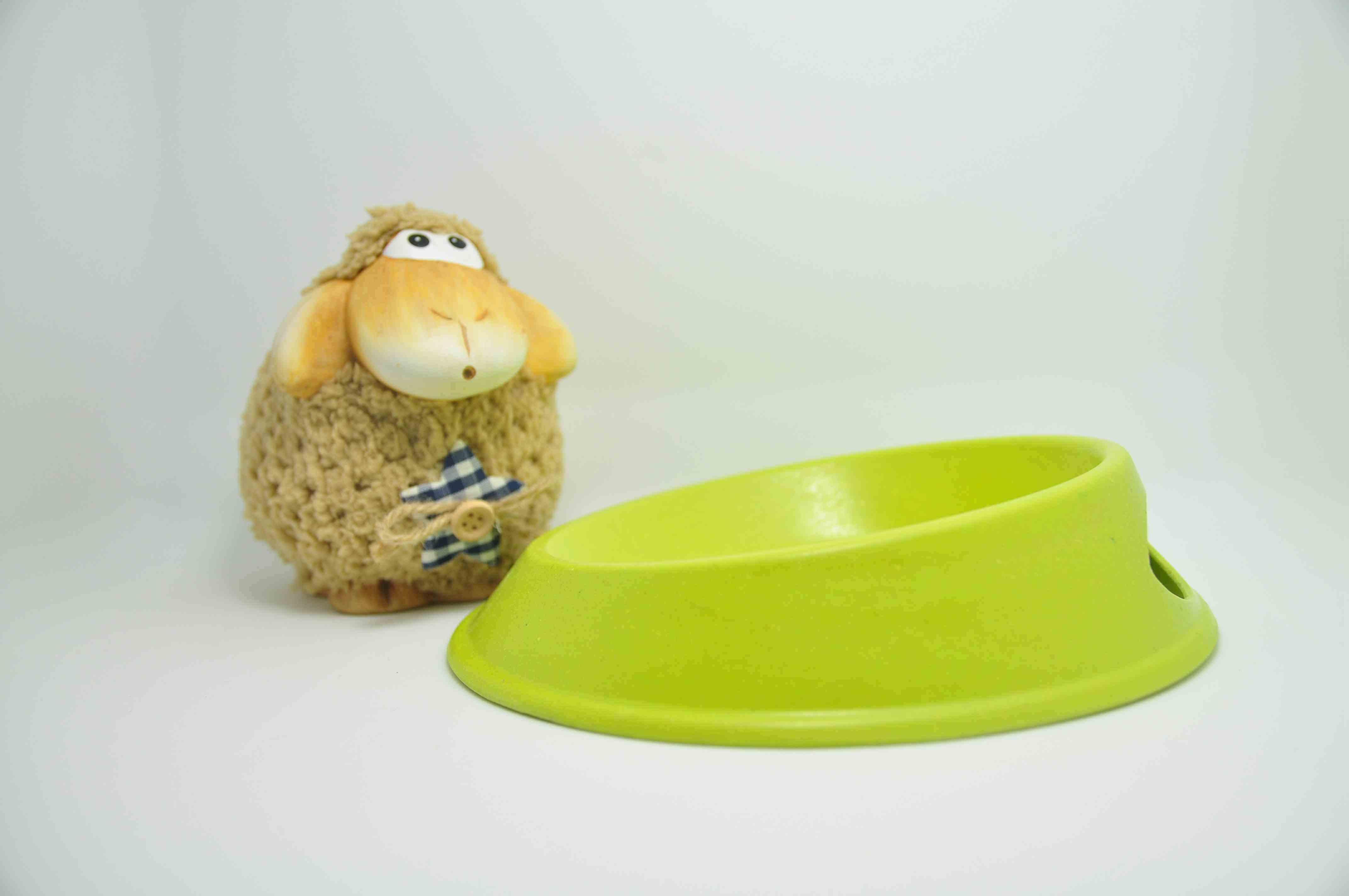 Bamboo Fiber Pet Supply Bowl (BC-PE6001)