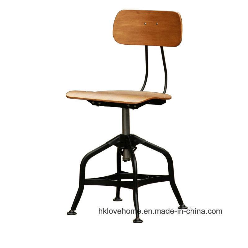 Modern Industrial Dining Turner Vintage Toledo Wooden Bar Stools Chair