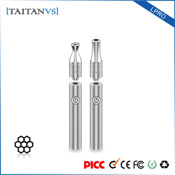 Mini Wax Vaporizer Pen Voltage Adjustment 300mAh Wax Vape Cartridges Accessories