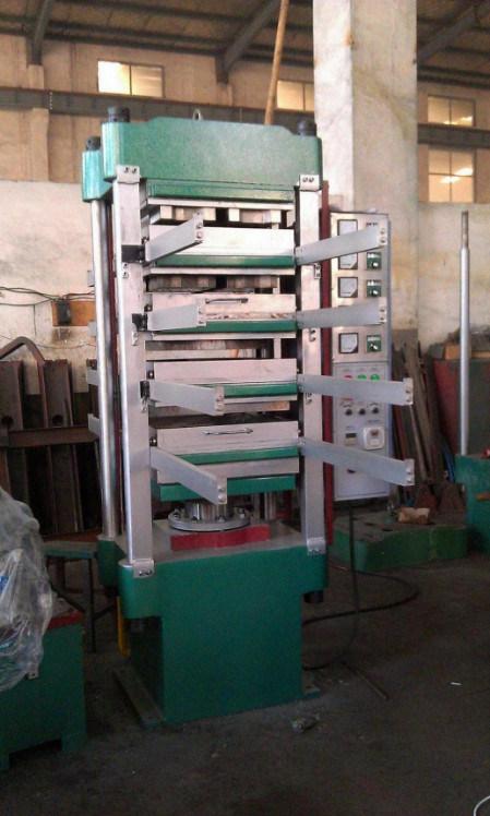 Four Columns Rubber Compression Molding Machine with Automatic PLC Control