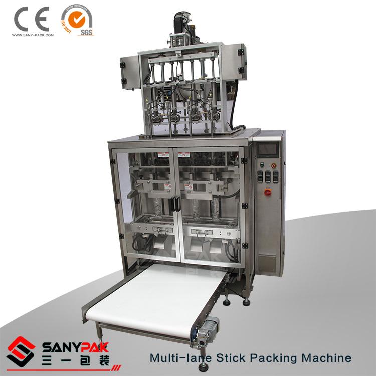 Powder Liquid Granular Multi-Lane Pillow Stick Packing Machine