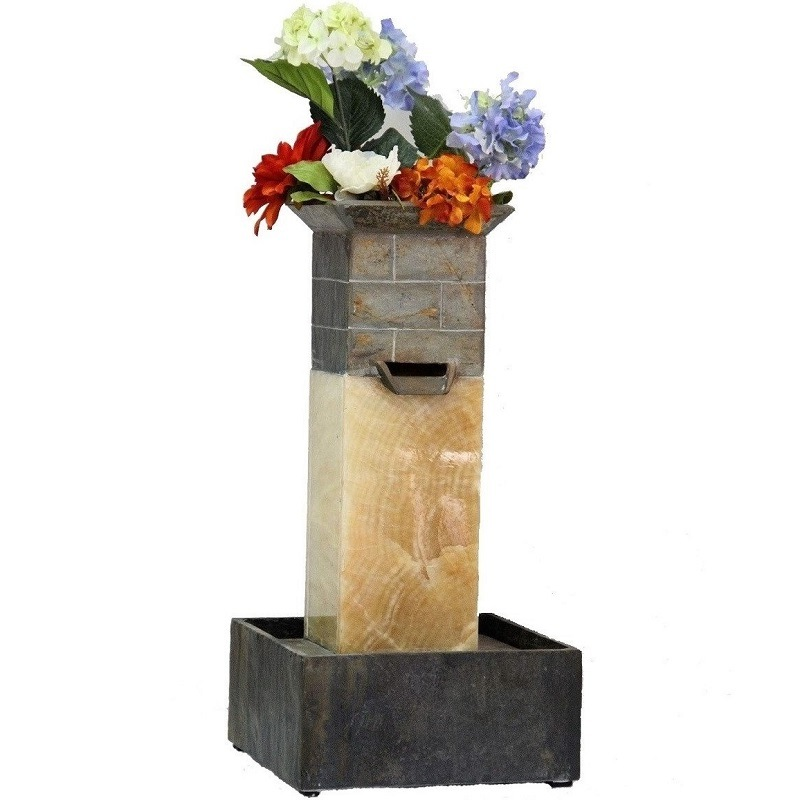 Outdoor Real Stone Fountain for Home Using