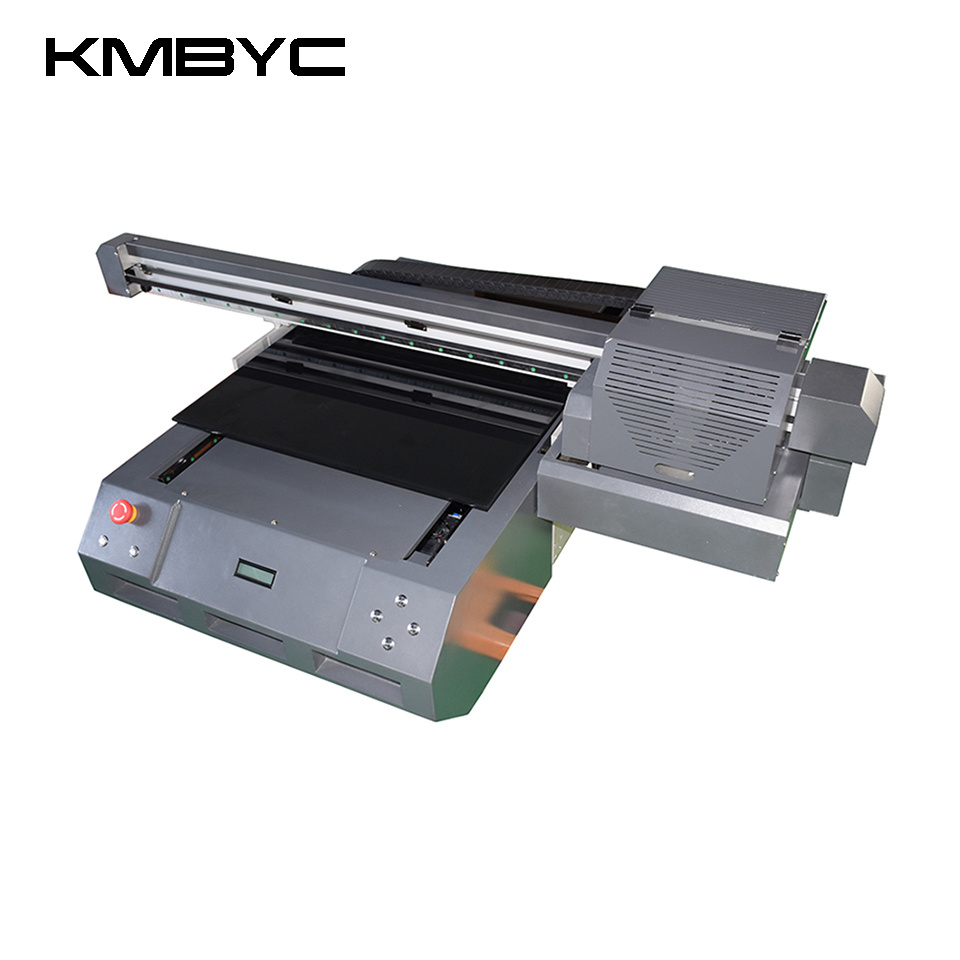 Kmbyc A2 Plus Size Double Head 12 Colors UV Flatbed Printer