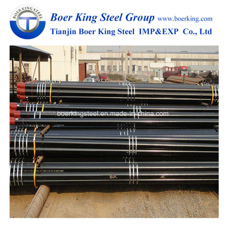 """7"""" API 5CT K55 Seamless Carbon Steel Oil Casing Pipe and Tubing OCTG pictures & photos"""