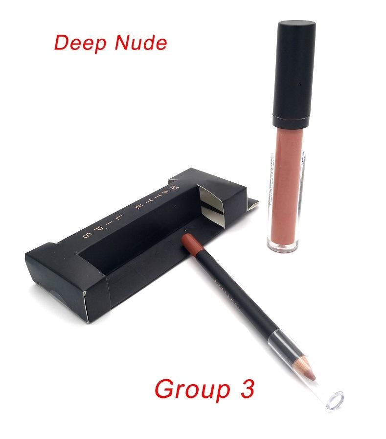 New Preminium Customized Matte Lipstick Kit with Lipgloss, Lipliner
