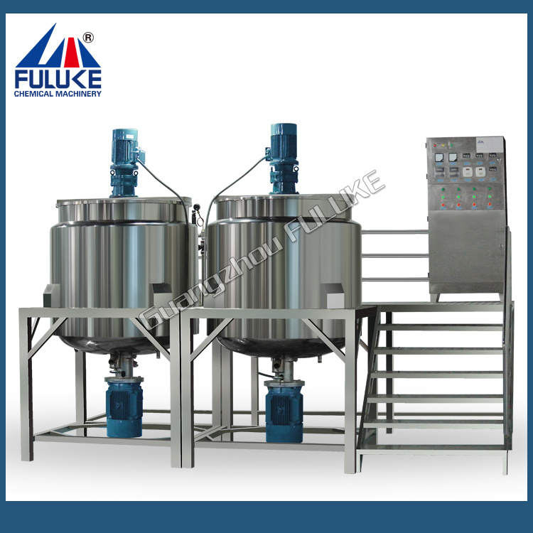 200L, 500L Stainless Steel Steam Heating Mixing Tank