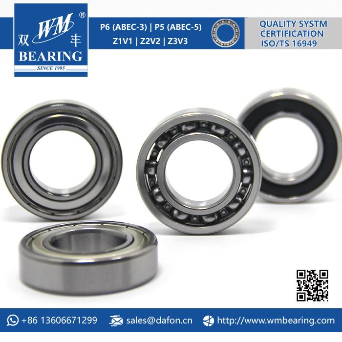 Motorcycle Parts Radial Deepg Groove Ball Bearing (6005)