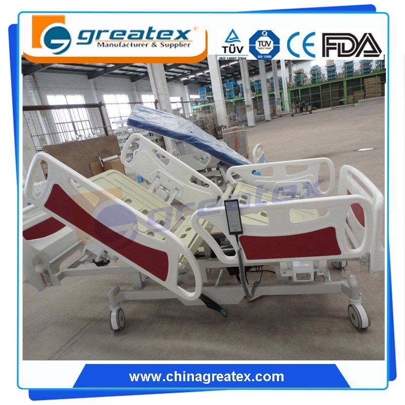 FDA Ce 5 Multiple Function Electric Hospital Bed (GT-BE5026)