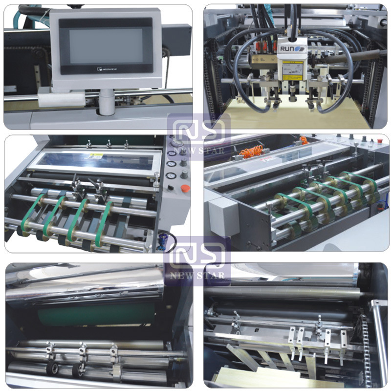 Wenzhou Fully Automatic Laminator Yfma-920A/1050A for Paper, Big Fully Automatic Laminator with Electromagnetic Heating System