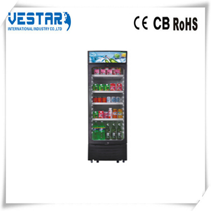 Cooler Store Display Showcase Fridge with R134A