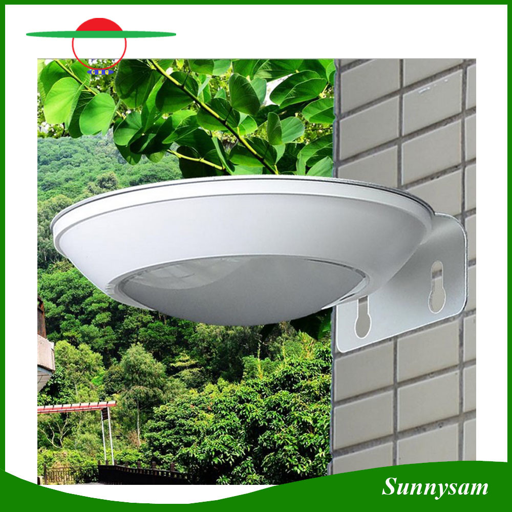 Outdoor Lighting Product 16 LED Solar Power Garden Lamp Microwave Radar Motion Sensor Solar Wall Light