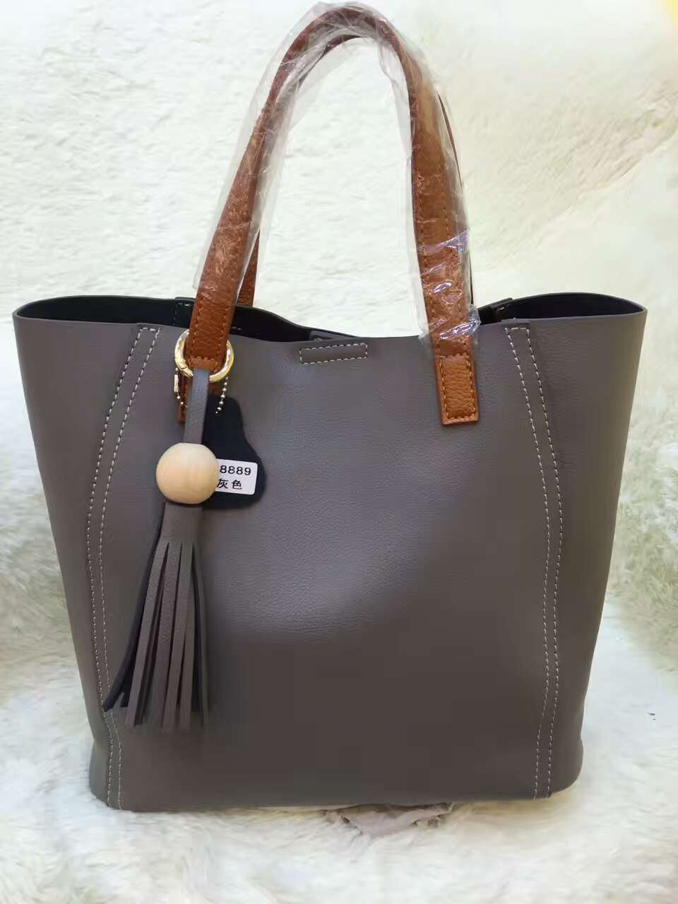 China Wholesale Leather Handbag / Lady′s Tote Handbag Ma1659