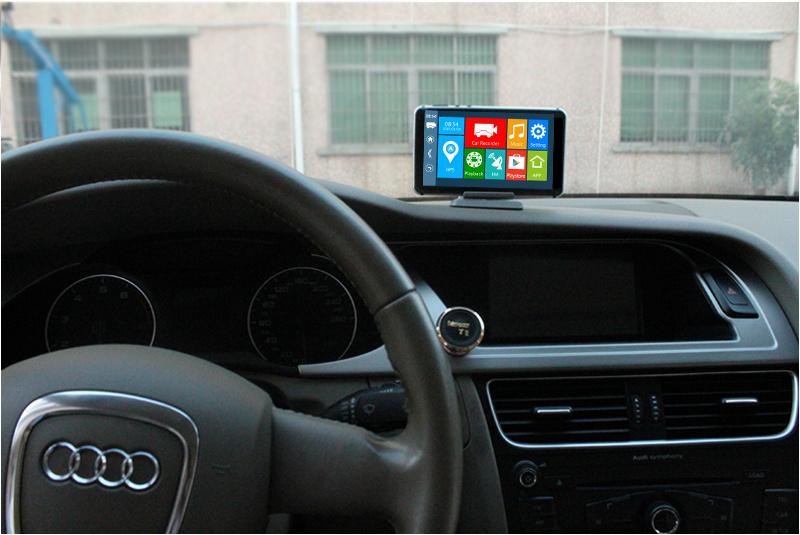 WiFi GPS 1080P 5 Inch Two Lens Car Camera DVR