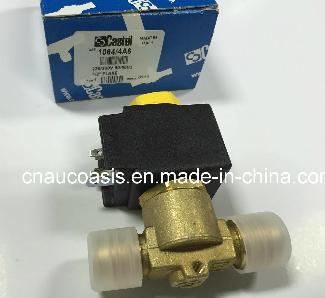 Oasis Motor Company >> China 1064/3A6, 1064/4A6 Castel Solenoid Valve for Refrigeration System Control - China Castel ...