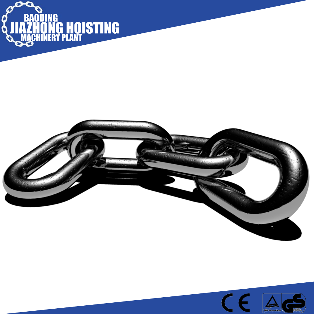 Favorable Price G80 Alloy Chain 14mm Black Link Chain