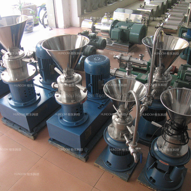 Sanitary Stainless Steel Sweetened Bean Paste Colloid Mill