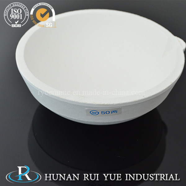 Clay Fire Assay Ceramic Crucible and Cupel for Gold Assaying