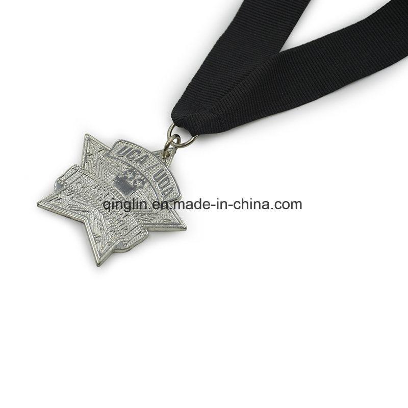 Custom Star Shape Zinc Alloy Metal Medals