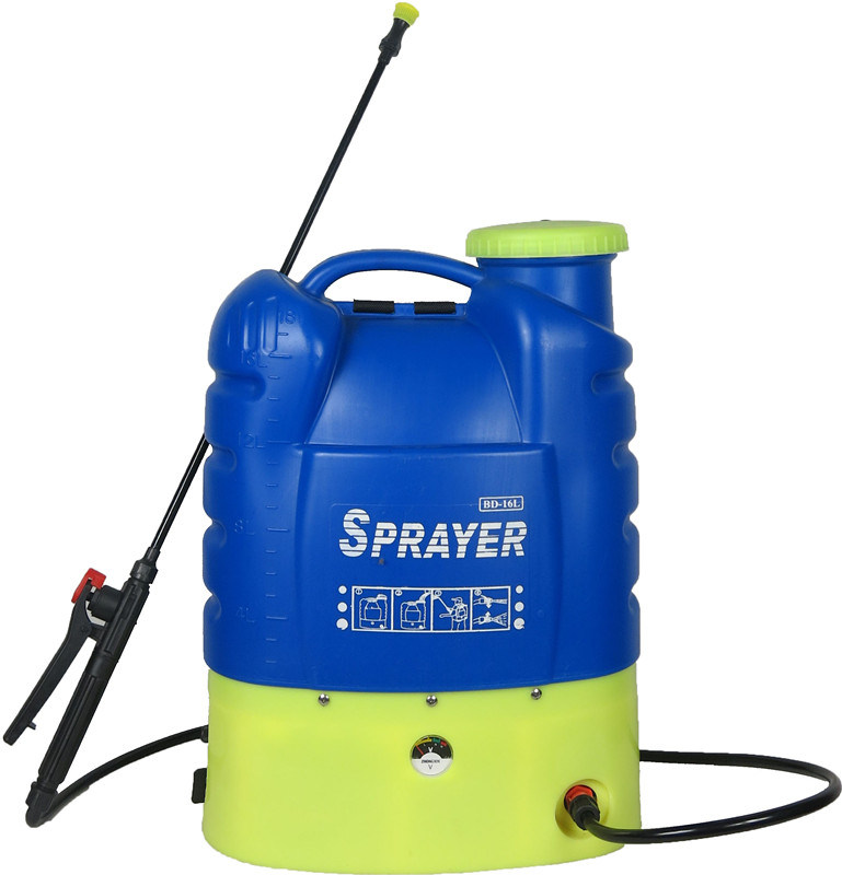16L Ce Approved Plastic Agricultural Backpack Power Electric Battery Sprayer (HX-16B)