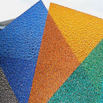 High Quality 6mm PC Diamond Sheet Indoor Decoration Polycarbonate Sheet