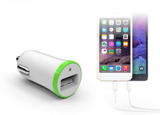 Wholesale Mobile Phone 1 USB Port Battery Car Charger