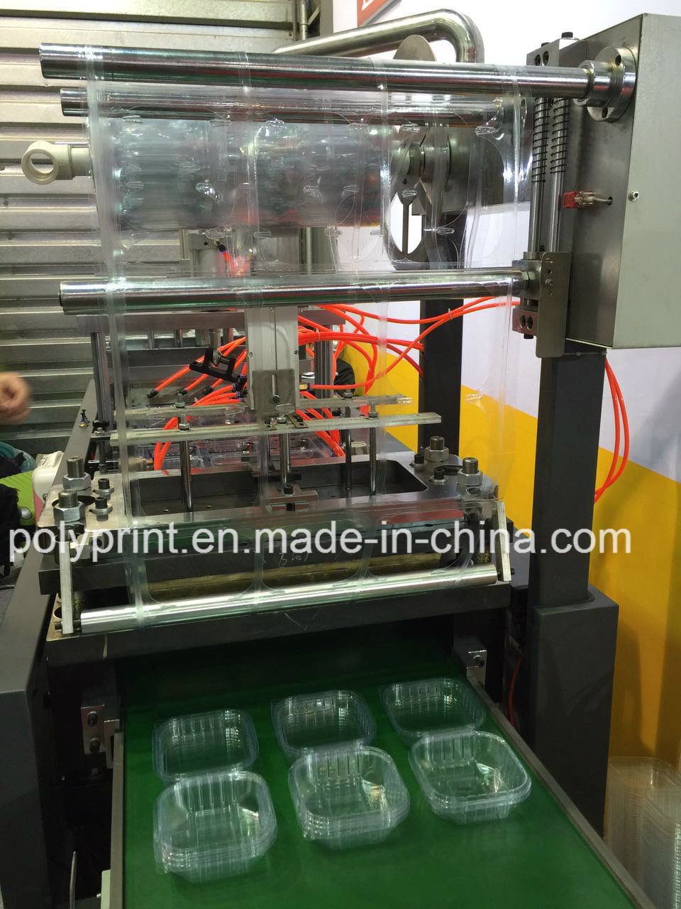 Flat Lid Forming Machine (PPBG-350)