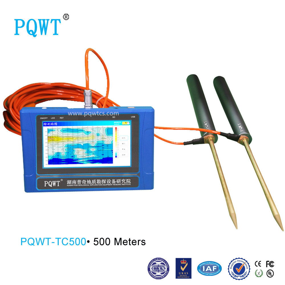 Quality and Quantity Assured! Resistivity for Water Exploration 500m