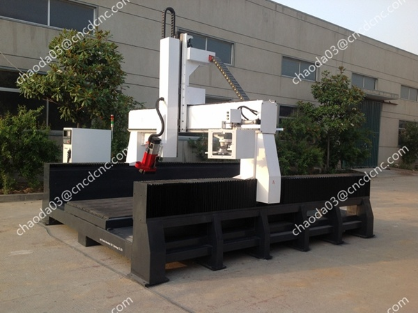 Jcs1530hl 3D Mold Making Machine 4 Axis Router Carver CNC
