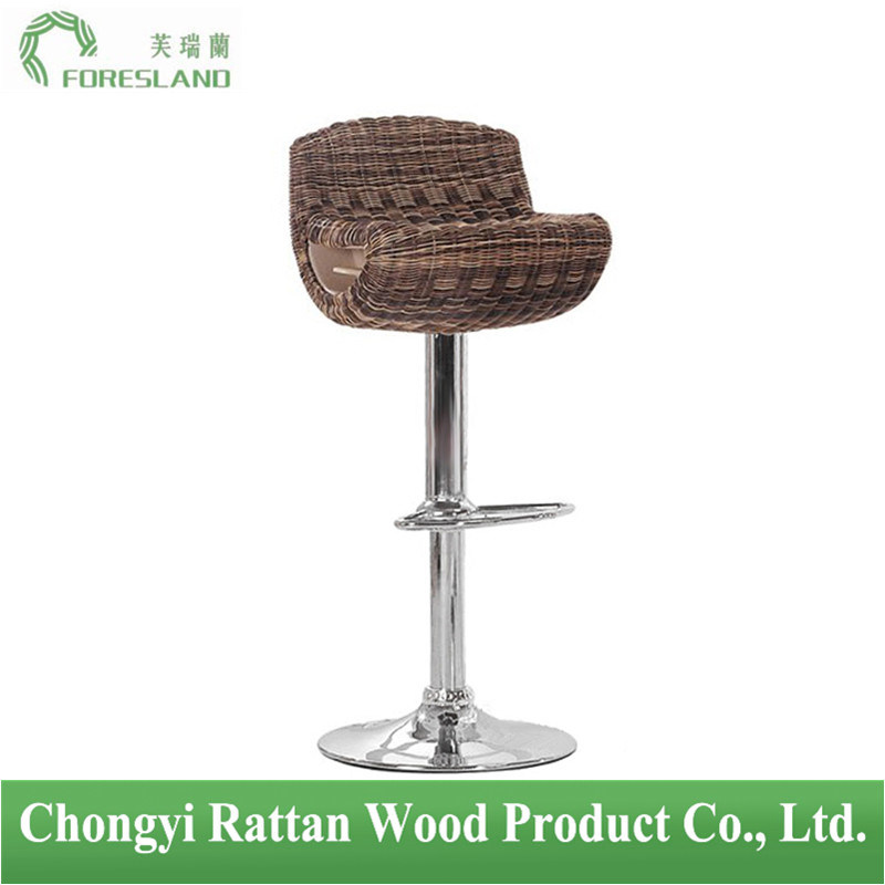 PE Rattan Bar Chair Counter Stool PS-07