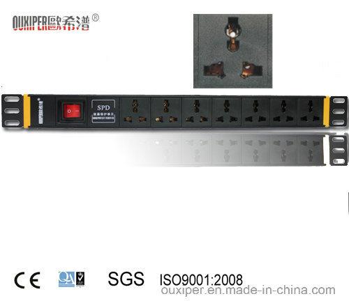 PDU with SPD, Universal 10A Socket