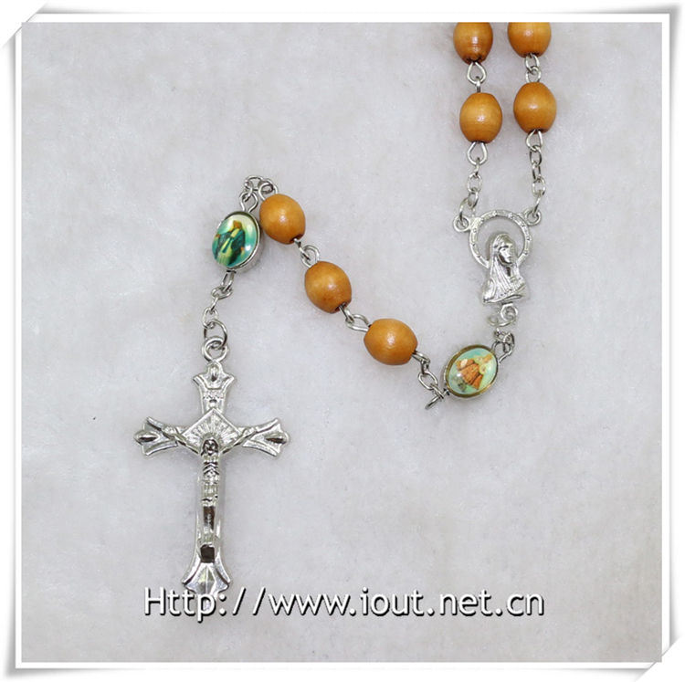 The Newest Wooden Beads Rosaries (IO-cr349)