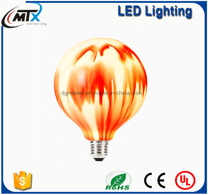 New Modern Stained Glass Lamp E27 LED Artificial Painted Lamp