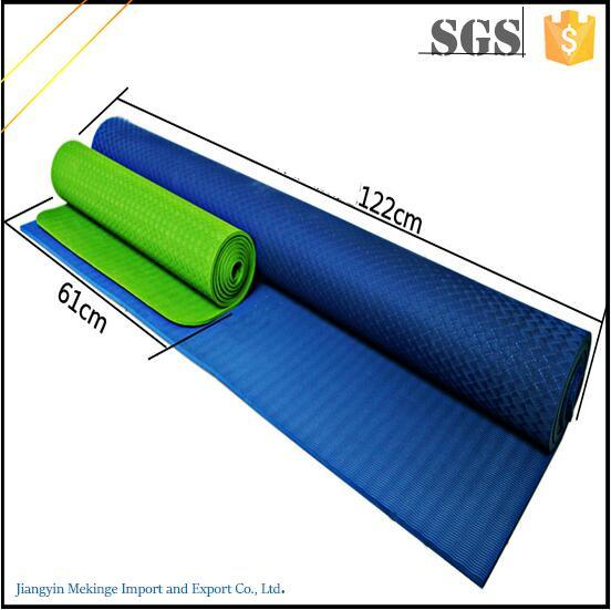 Eco High Density Mat Yoga TPE Washable Earthing Yoga Mat