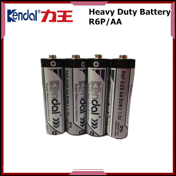1.5V R03p AAA Size PVC Jacket Carbon Zinc Battery