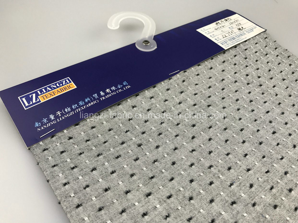 Clipping Cotton Oxford Fabric with Brush-Lz7939