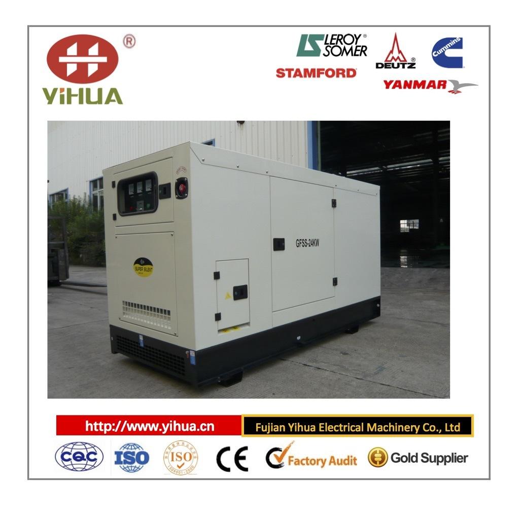 Lovol (China) Good Quality Silent Type Diesel Generator Set