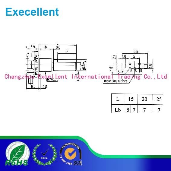12mm Metal Shaft Rotary Encoder (EC12S)